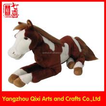 Wholesale stuffed animals large horse kids toys big plush horse