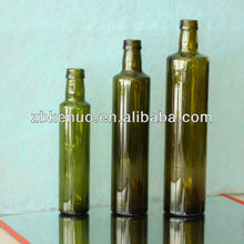 Hot-sales High Quality Popular Clear Empty Round Shape Olive Oil Glass Bottle750ml