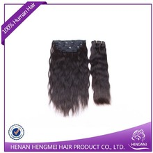 Wholesales Price Top Quality 100% remy clip hair extensions dubai
