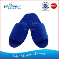 Hot selling custom anime plush slippers for men