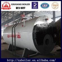 WNS series horizontal oil/gas boiler /gas 1 ton boiler