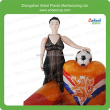 New 160cm Full Solid Silicone Love Sex Doll Baby Football Baby w/ Inflatable Arm Sofa
