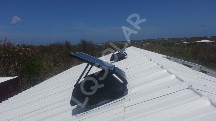 30w Solar Exhaust Fan With Detachable Solar Panel Buy