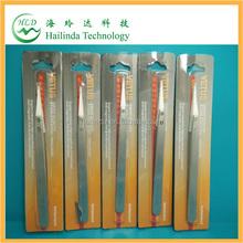 factory price white ceramic tip tweezer from hailindatech