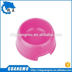 pet product bowl high quality plastic wholesale pet feed dog bowl fancy dog bowl GM412