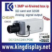 Dahua authorized distributor IPC-HF3100 1.3 mega pixel box ip camera 720P ONVIF2.0 analog video output Cyprus