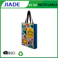 woven ploy bags promotional cheap custom non woven bag/small reusable bags/washable grocery bags