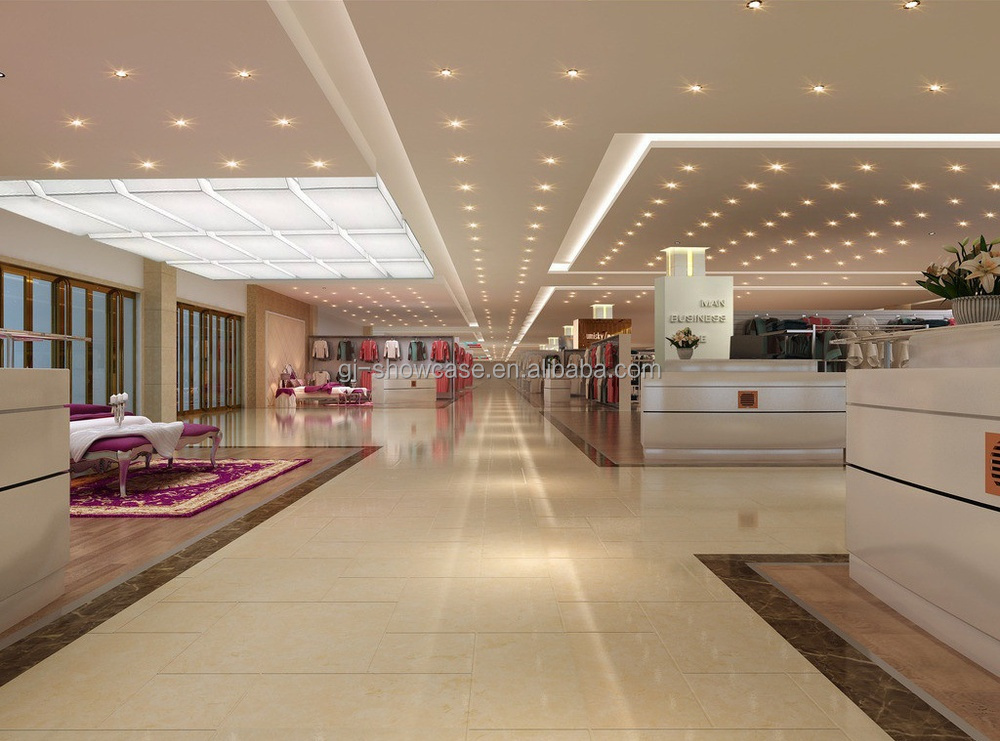 Professional jewellery shop design with display showcase for G furniture mall meerut