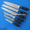 6pcs steel head kitchen knife set