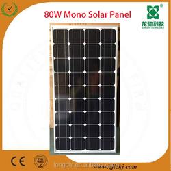 80watt flexible solar panel manufacturers in china