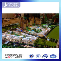 modern house plan making service in China with water and led lighting
