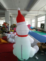 Paypal accpeted outdoor inflatable polar bear Christmas Day New Product
