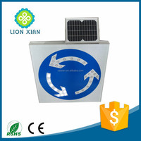 traffic safety products solar warning light sign