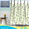 polyester hookless shower curtain make u feel confortable