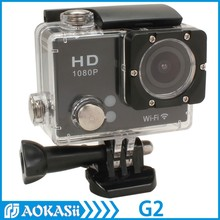 New 2.0 inch Wifi Full Hd Action Sports Camera 1080P 30FPS Waterproof H.264 ActionCam