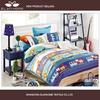 100% cotton fabric circus lion train three print design kids china supplier textile bed sheet