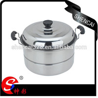 High Quality Stainless Steel Steamer Cooking Pot/Cookware