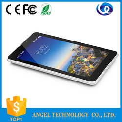 2015 hot sale 7 inch Quad-Core 800*480 IPS 1800mah battery Android 3g tablet pc