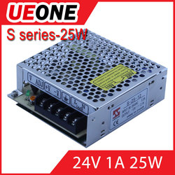 factory price Single Output 25w 24vType switching mode power supply