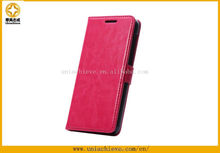 Case for HUAWEI honor6 with PU leather Filp with wallet card