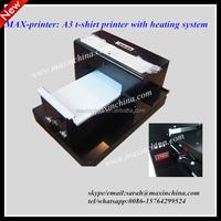 MAX- printer digital A3 dtg tshirt printer with heating function