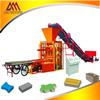 QT4-26 table vibration hollow paver brick making mchine, concrete block making machine