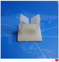 UL certificate nylon wire saddle wire clip wire mounting clips