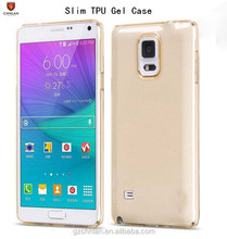 Soft Slim Ultra Thin Colorful clear Rubber GEL TPU Case For Samsung Note 5