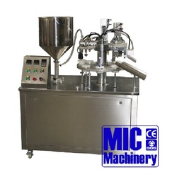 MIC-R30 Semi-automatic tube sealer for plastic tube and Aluminum tube