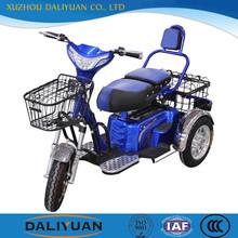 three wheel electric motor bike vehicle for passenger