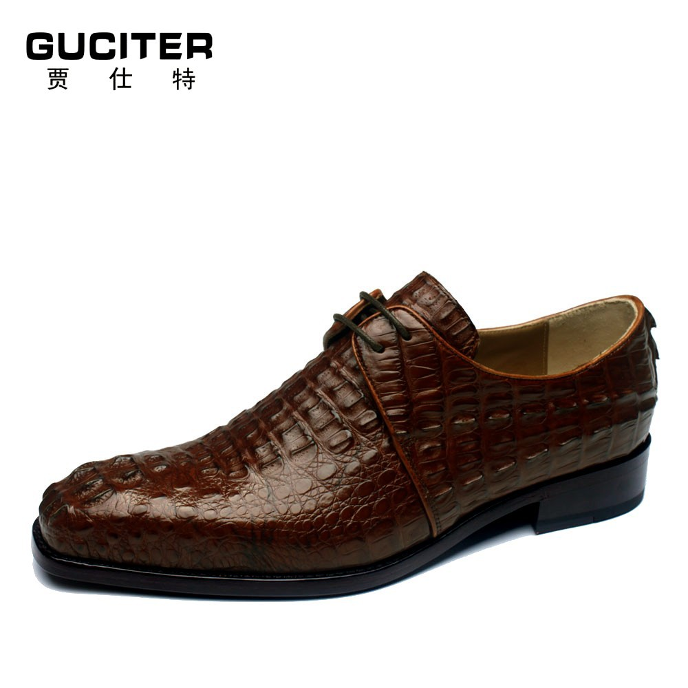high grade crocodil shoes goodyear s alligator