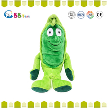 ICS Certified factory High Quality ICS plush fruits and vegetables toys