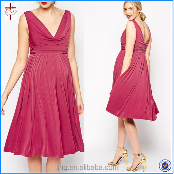 2015 summer fashion office wear for pregnant women dresses, View ...
