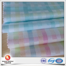 new design yarn dyed cotton square pattern dobby poplin fabric for cloth
