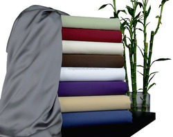 King size bed sheets ,bed cover 100% Rayon from Bamboo Sheet Set