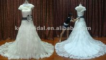 fashion and delicate affordable lace bridal dresses 2012