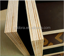 15mm hardwood core film faced plywood with logo for outdoor use
