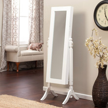wholesale home decoration jewelry armoire standing mirror