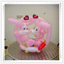 animal making balloon stand for Children's day decoration, DIY latex balloon with high quality