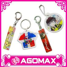 Promotional Plastic Acrylic Key Chain Keyring