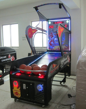 Luxury Basketball arcade hoop games for India market