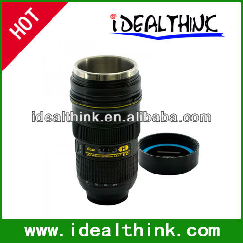 Car Coffee Milk Heater Lens Electric Cup Mug Portable Tea Warmer Drink