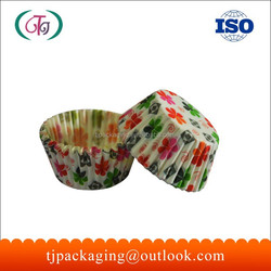 Printed Flowers High Quality Paper Baking Cupcak /Muffin Cup, Baking Cup