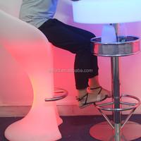 201 hot sale led color changing led night club illuminated bar table furniture