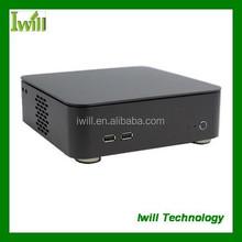 M5 horizontal mini pc case/aluminium pc case