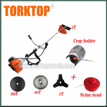 Cheap price gasoline BG520 brush cutter with chinese brush cutter spare parts