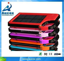1450mah colorful solar mobile phone charger