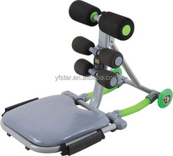 Supply total core/ab exercise equipment with spare parts