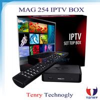 2015 new iptv account MAG 254 IPTV SET-TOP BOX mag254
