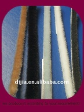 types of woven brush seal striping/wool pile weather Strip for door/window